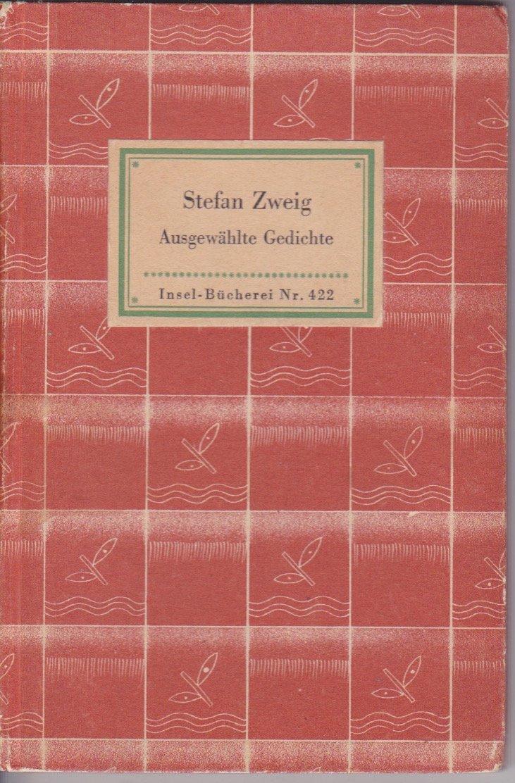 Ausgewahlte Gedichte Stefan Zweig Amazoncom Books