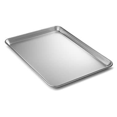 Bellemain Heavy Duty Aluminum Half Sheet Pan, 18  x 13  x 1