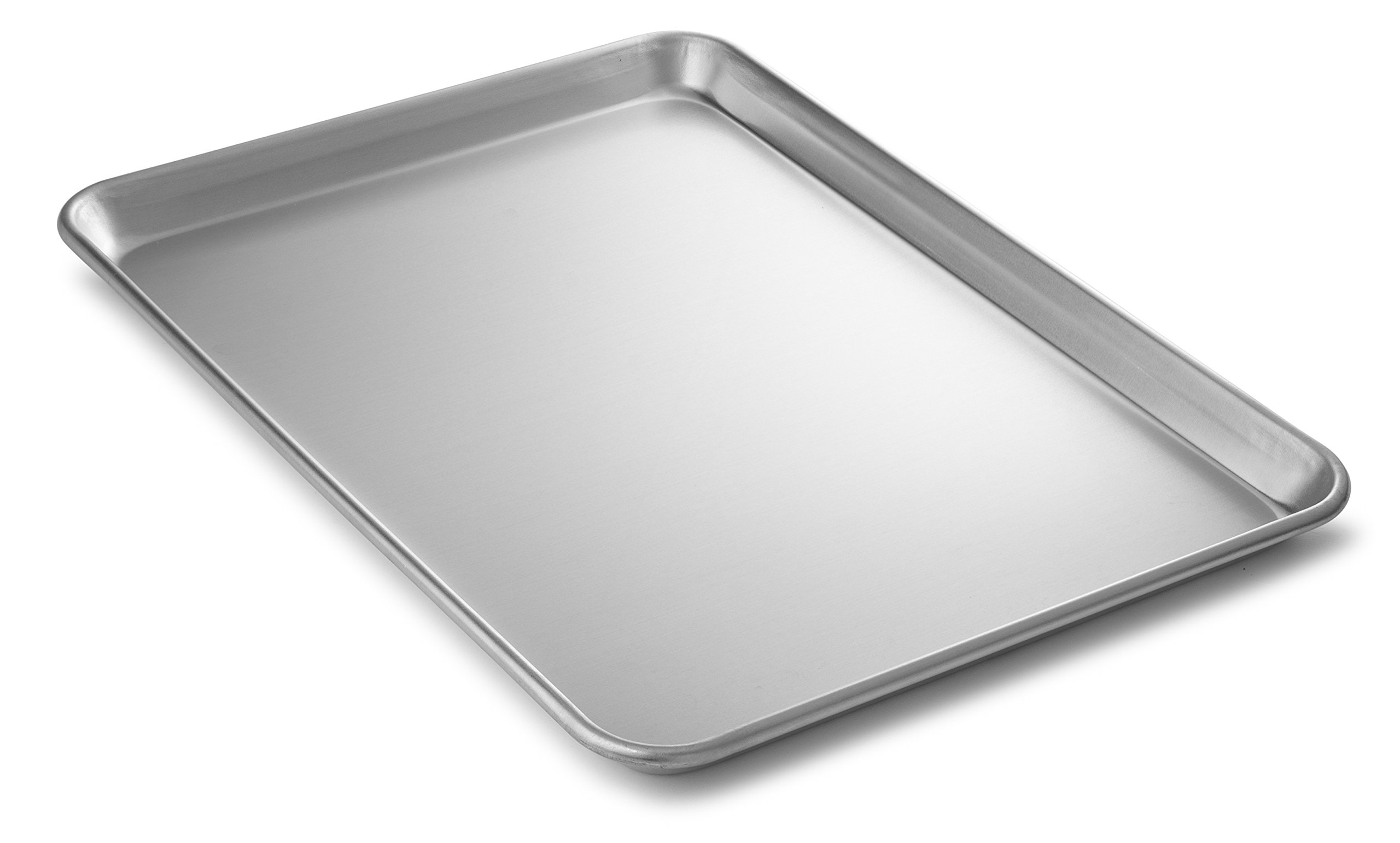 Bellemain Heavy Duty Aluminum Half Sheet Pan, 18'' x 13'' x 1''