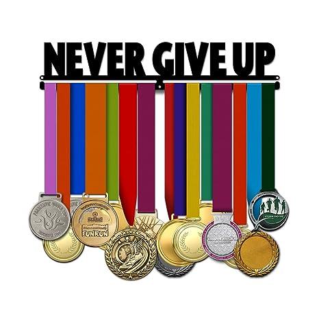Believe&Train Never Give Up - Motivational Medal Hanger