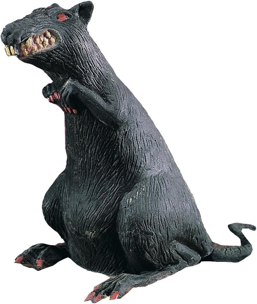 "B000H3UDM0 Rubies Rubber Standing Rat With Red Eyes Decoration Prop, Black - 8"" 71vEjDp2TOL"