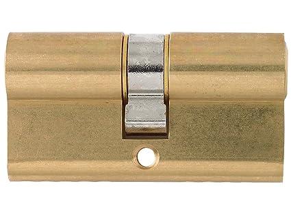 Yale Locks - Cerradura cilíndrica de seguridad con perfil doble (30 x 30, 70