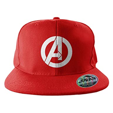 2636088d459 Image Unavailable. Image not available for. Color  The Avengers Baseball  Cap Marvels A Logo Official Mens ...