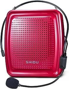 Zoweetek® Amplificador de la Voz (10W) con batería de Litio 1800mAh para guías , Maestros , Profesores , Artistas, animadores , promotores de Ventas , ...