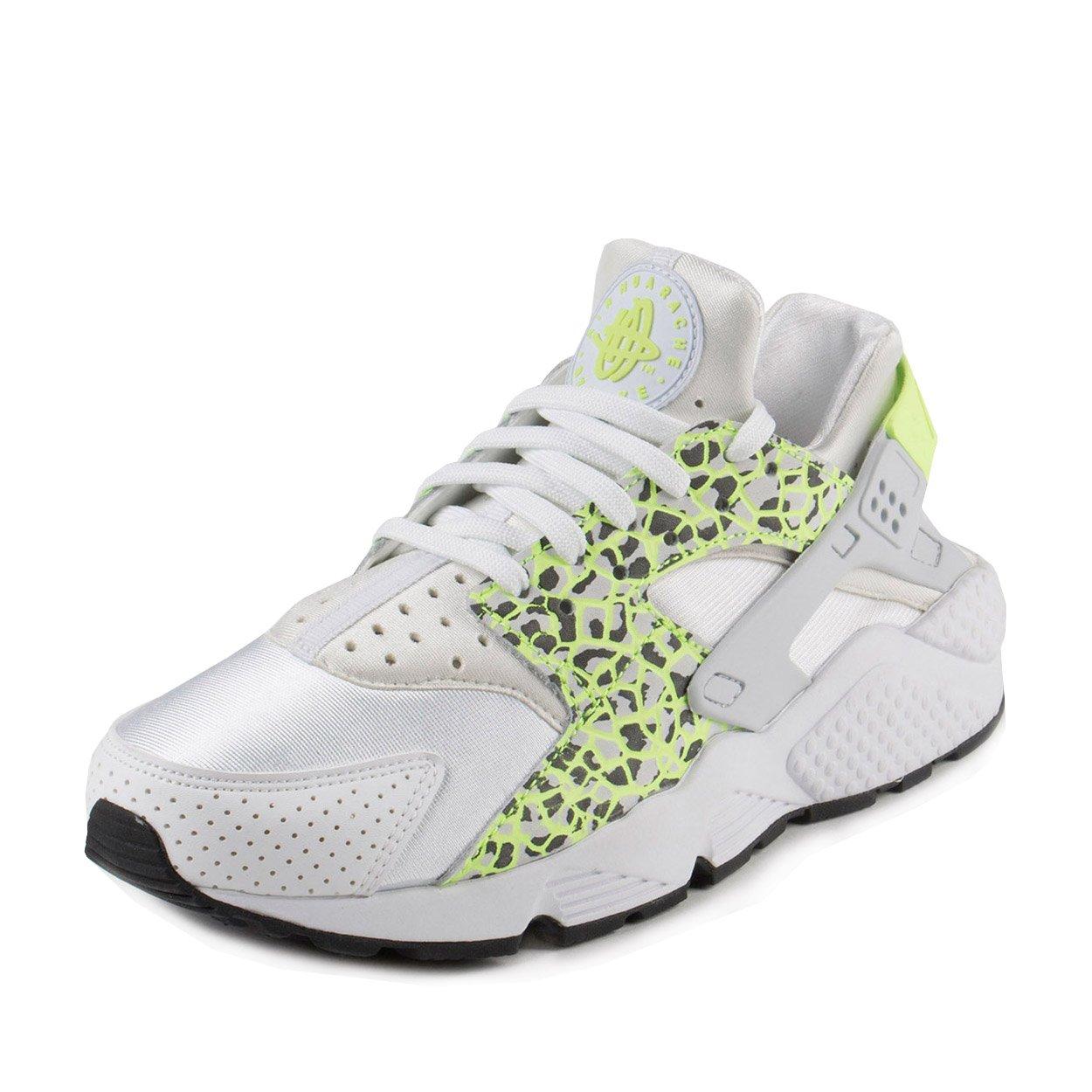 more photos 7b924 a6d77 Galleon - Nike Womens Air Huarache Run PRM White Ghost Green-Pure Platnium  Nylon Size 9.5