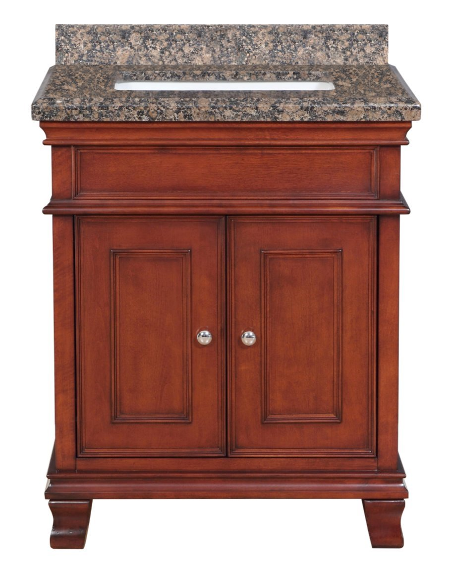 Amazon: Mission Hills Middleton Bath Vanity With Sink, 28