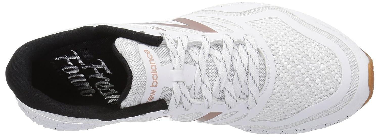 New Balance Women's Fresh Foam Gobi Trail Running Shoe B01FSIVPMK 7.5 D US|White/Rose Gold