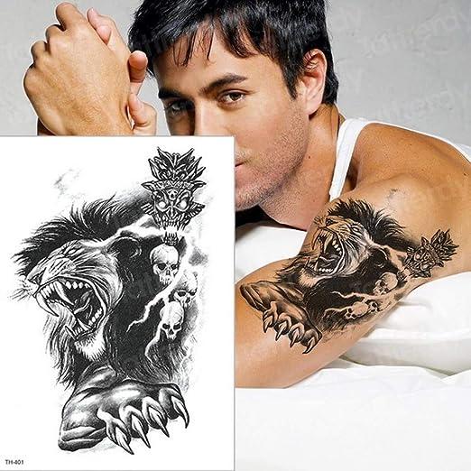 5pcs El Tatuaje Etiqueta engomada del Tatuaje Tatuaje con el Gato ...