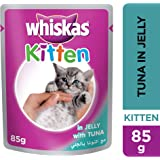 Whiskas Kitten Tuna in Jelly, Pouch, 85g x 24