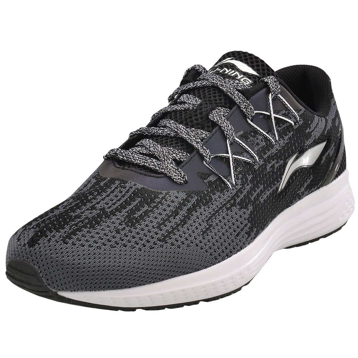 LI-NING Men's Running Shoe Cushion Breathable Sport Sneaker Casual Athletic Lightweight Speed Star Couple Shoes B077ZTQS58 US SIZE 12 FEET LENGTH 295MM|Black