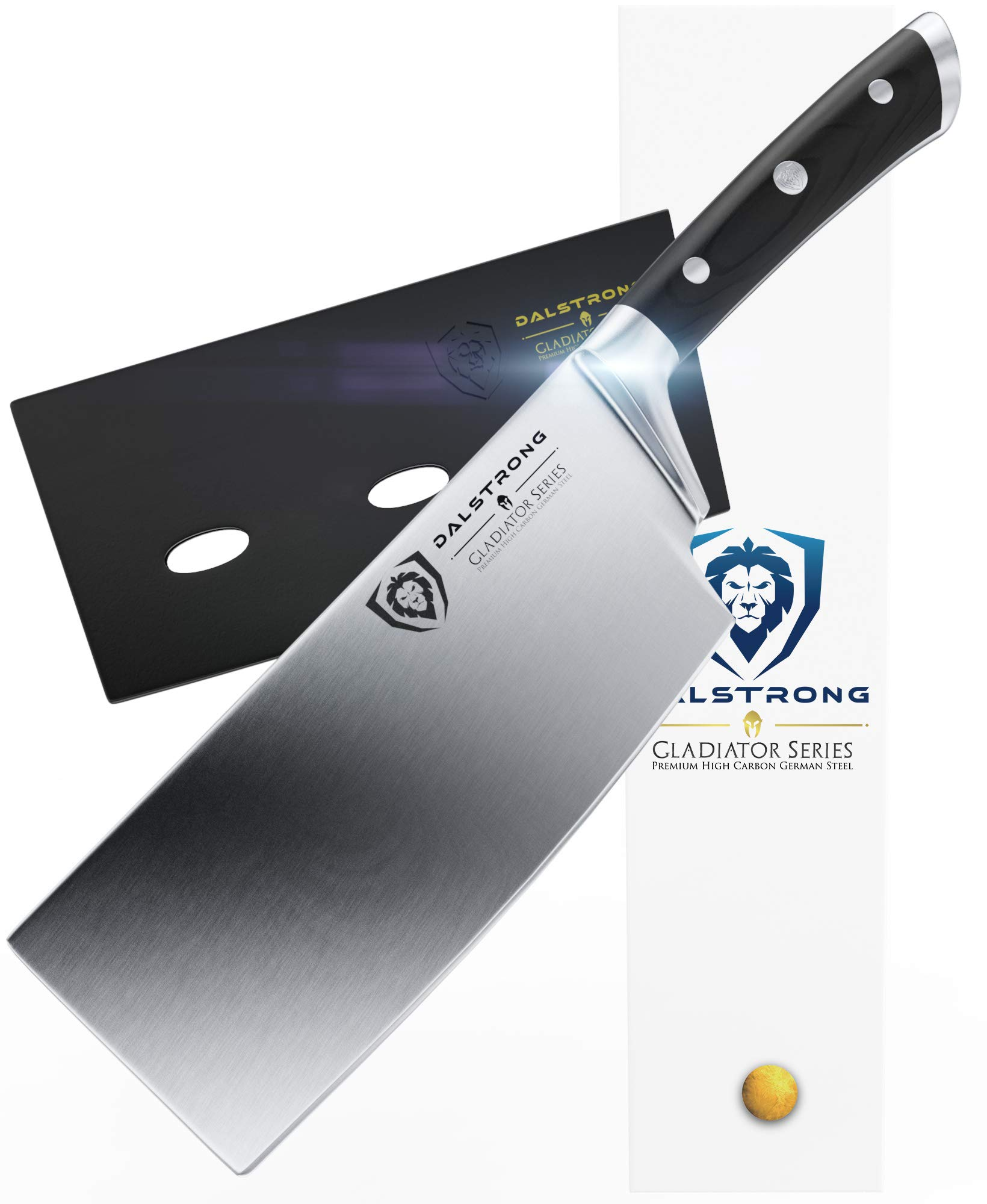 DALSTRONG Cleaver - Gladiator Series - German HC Steel - 7'' (178 mm) - Sheath by Dalstrong