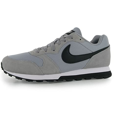 Nike MD Runner – Zapatillas para Hombre, Color Gris/Negro Casual Zapatillas Zapatos Calzado