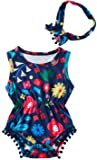 Leapparel Infant Baby Girl Romper with