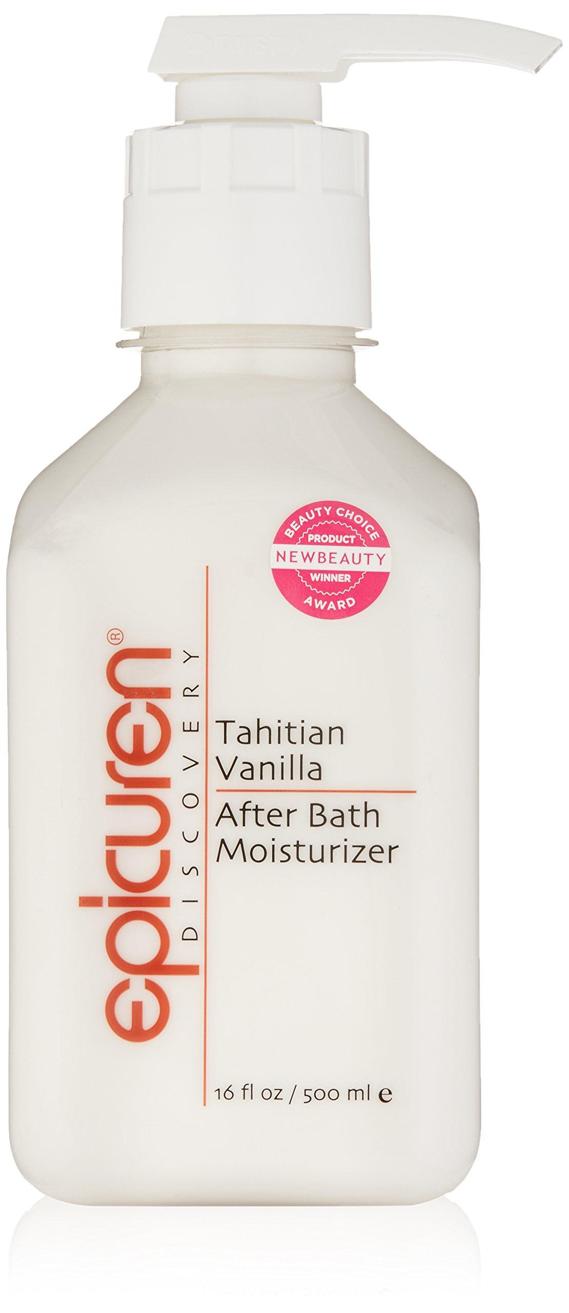 Epicuren Discovery Tahitian Vanilla After Bath Body Moisturizer, 16 Fl oz