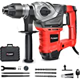 AOBEN 1-1/4 Inch SDS-Plus Rotary Hammer Drill with Vibration Control and Safety Clutch,13 Amp Heavy Duty Demolition…