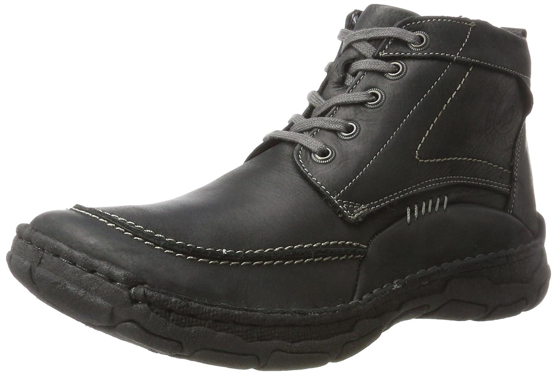 Black - black (600 black) Josef Seibel Dominic 09, Men's Hi-Top Sneakers