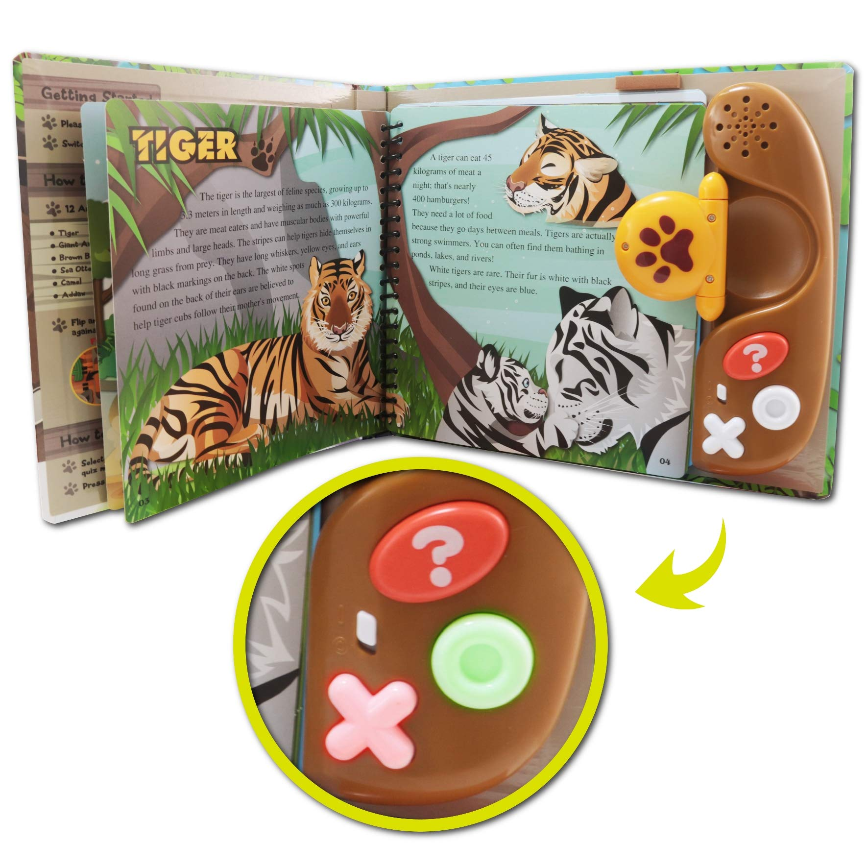 BEST LEARNING Book Reader Animal Kingdom - Educational Talking Sound Toy to Learn About Animals with Quiz Games for Kids Ages 3 to 8 Years Old by BEST LEARNING (Image #9)