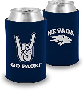 Root Sportswear NCAA College Hand Sign Insulated Foam Can Cooler (One, Double Sided)
