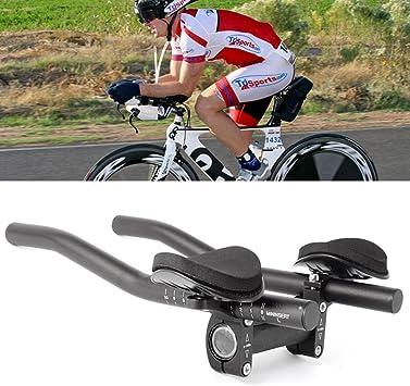 Acople para manillar de bicicleta, reposabrazos, abrazaderas ...