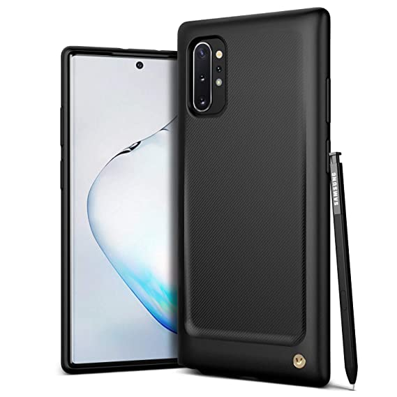 VRS Design Damda Single Fit for Galaxy Note 10 Plus, with Premium Gold Detail for Galaxy Note 10 Plus 5G Case 6.8 inch (2019)
