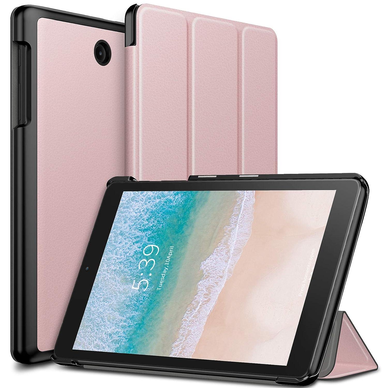 free shipping 5221e 4f174 Infiland T-Mobile Alcatel 3T 8 Tablet Case, Ultra Slim Tri-Fold Shell Case  Cover Compatible with T-Mobile Alcatel 3T 8-inch Tablet 2018 Release, ...