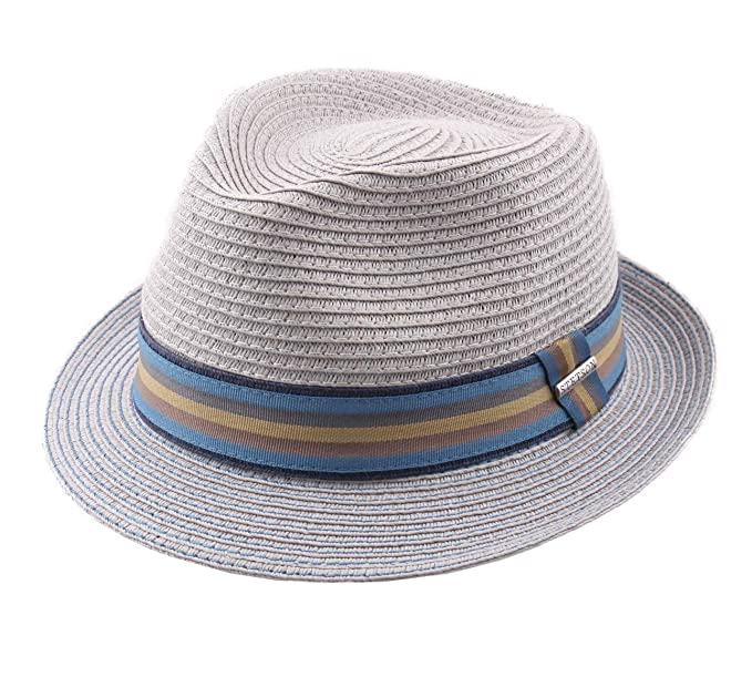 9fd5c1c1595b66 Stetson - Trilby Hat Packable Men Trilby Toyo: Amazon.co.uk: Clothing