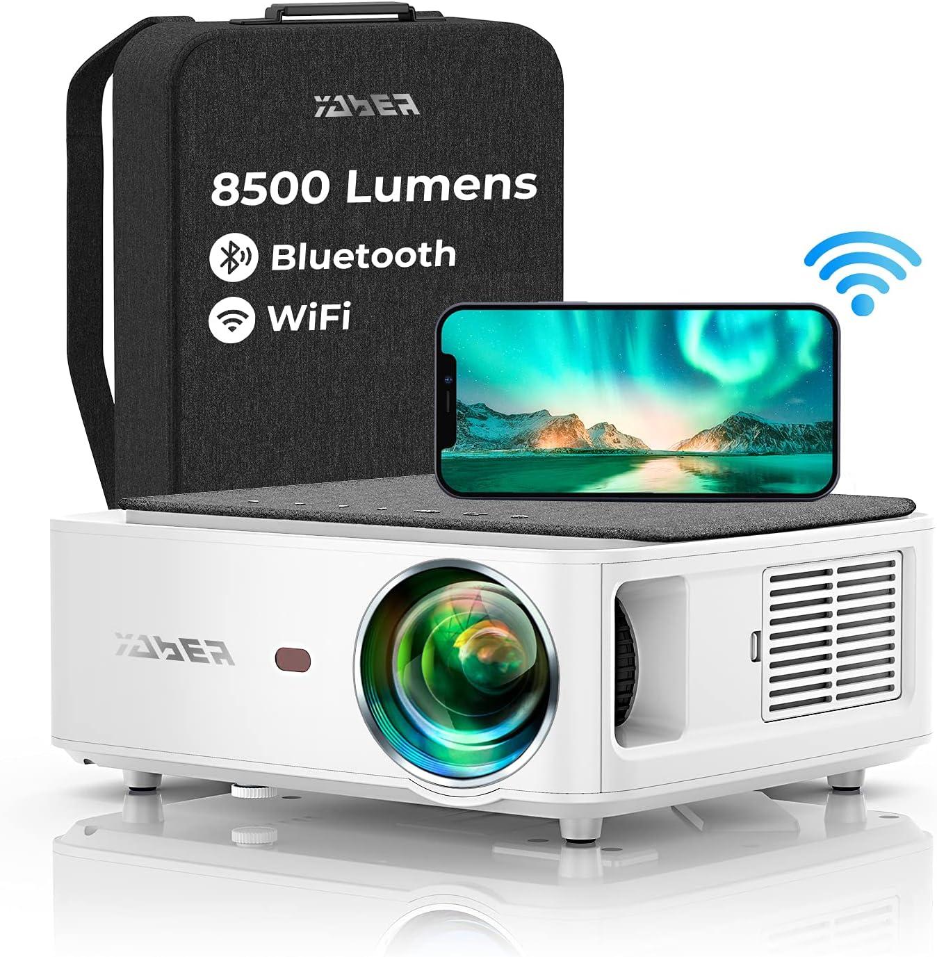 YABER プロジェクター 8500lm Wifi 5G