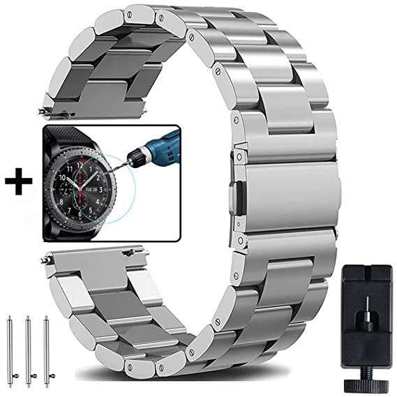 0d3b5503cde Amazon.com  Samsung Galaxy Watch 46mm   Gear S3 Bands