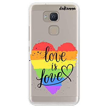dakanna Funda BQ V Plus - VS Plus | LGBT Corazón Frase Just ...