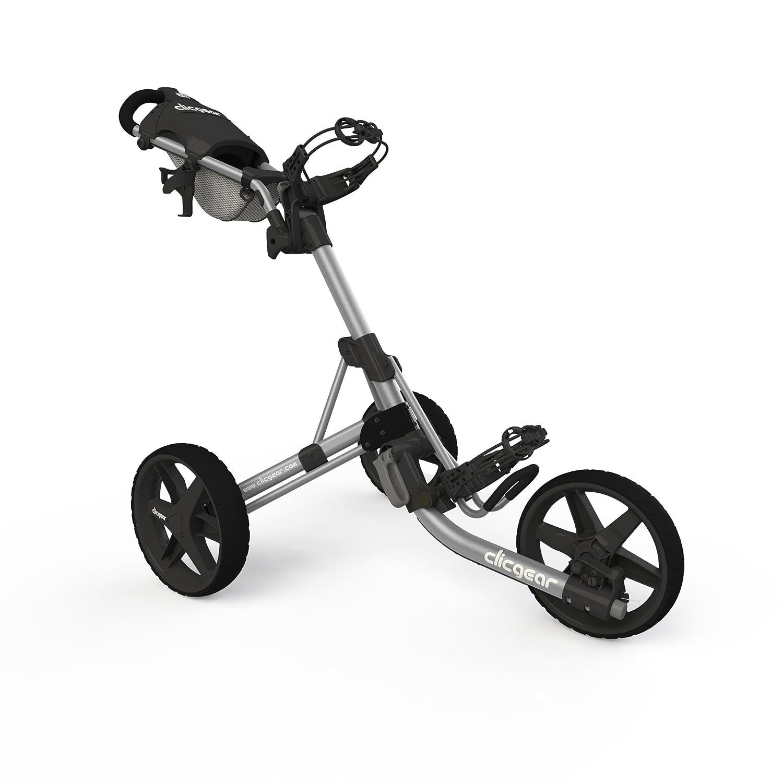 Clicgearモデル3.5 +ゴルフプッシュカート  シルバー B00V5O6WXY