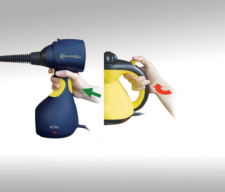 Solac ecogenic pro 15 LV1450-Pistola, 1400 W, Azul y amarillo ...