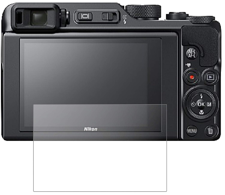 2x Nikon Coolpix A1000 Schutzfolie matt Displayschutzfolie Folie Display Schutz
