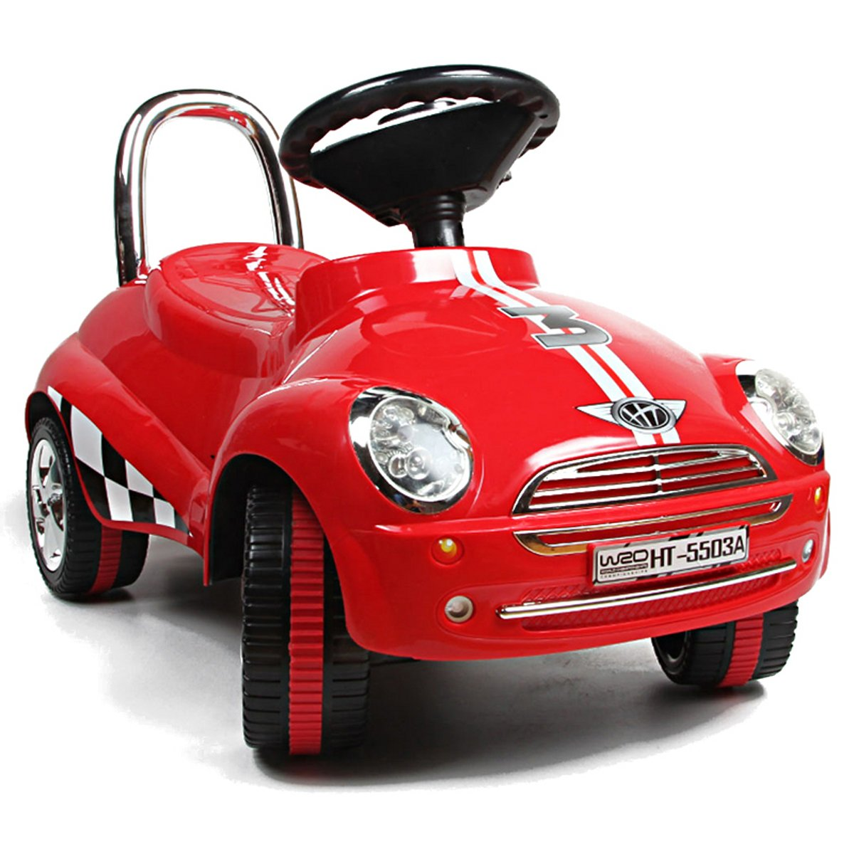 Red Ride On Car Toy Gliding Scooter with Sound Light by Unknown