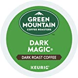 Green Mountain Coffee Roasters Dark Magic Keurig Single-Serve K-Cup Pods, Dark Roast Coffee, 72 Count (6 Boxes of 12 Pods)