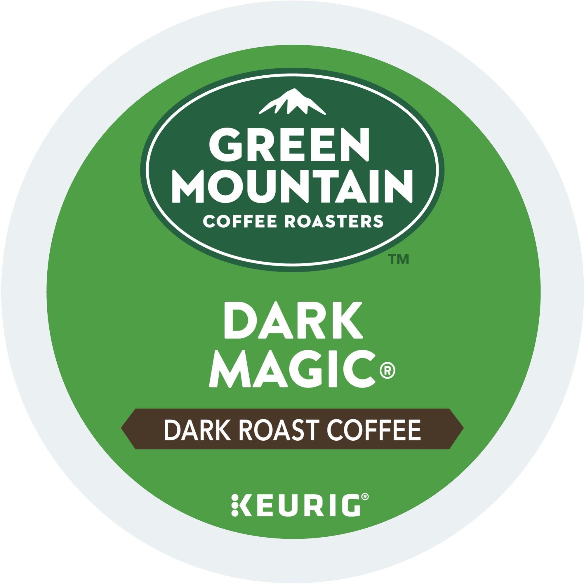Green Mountain Coffee Roasters Dark Magic Keurig Single-Serve K-Cup Pods, Dark Roast Coffee, 72 Count