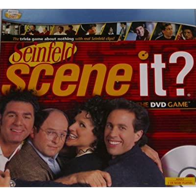 Seinfeld Scene It Game With DVD TV Trivia Questions: Toys & Games