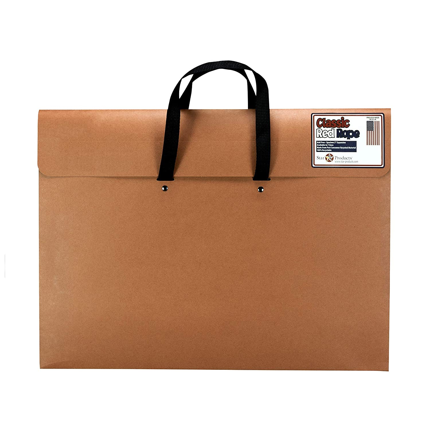 """B001DKMU72 Star Products 223H Classic Red Rope Paper Artist Portfolio with Soft Woven Handle, 23"""" x 31"""" 71vF2BHMUt2L"""