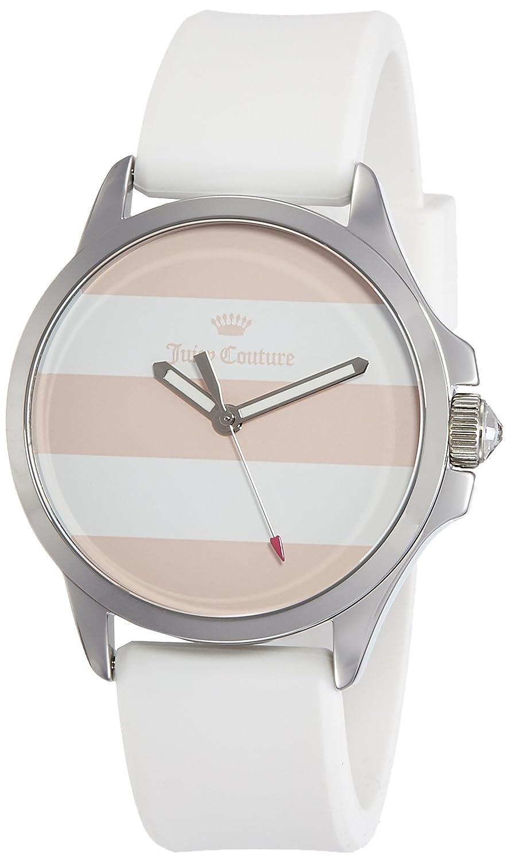 Juicy Couture Womans Fergi weiß Silberarmband und Geschenk-Set beobachten 1950009