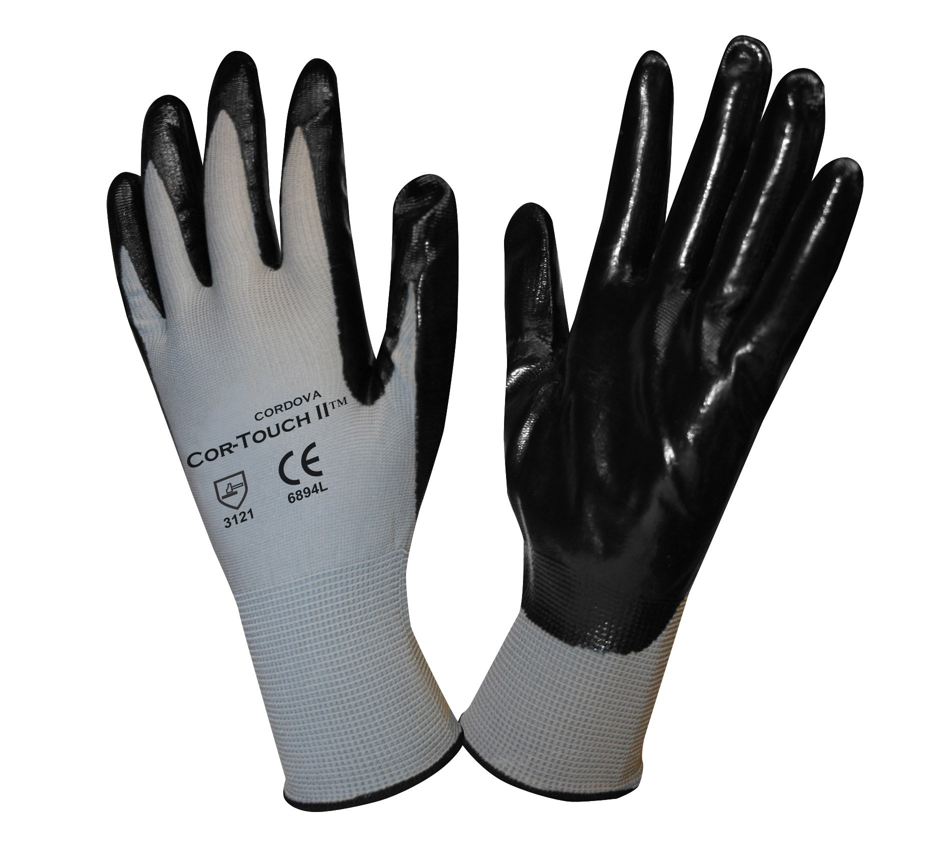 Cordova Safety Products 6894MC Cor-Touch II Work Gloves (Pack of 144 PR),