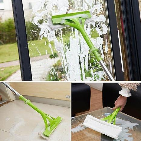 gaddrt limpieza esponja mopa telescópica extensible mango limpiador limpiaparabrisas suelo Escobilla de Limpiaparabrisas