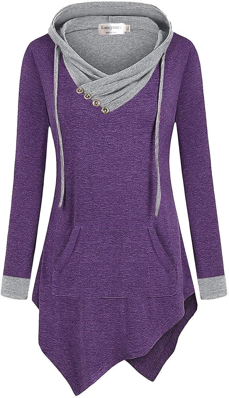 Women/'s Clothing Fitted Jacket Women/'s SweatshirtWarm SweatshirtTunicCotton Coat Asymmetrical  Handmade Black Hoodie with Collar
