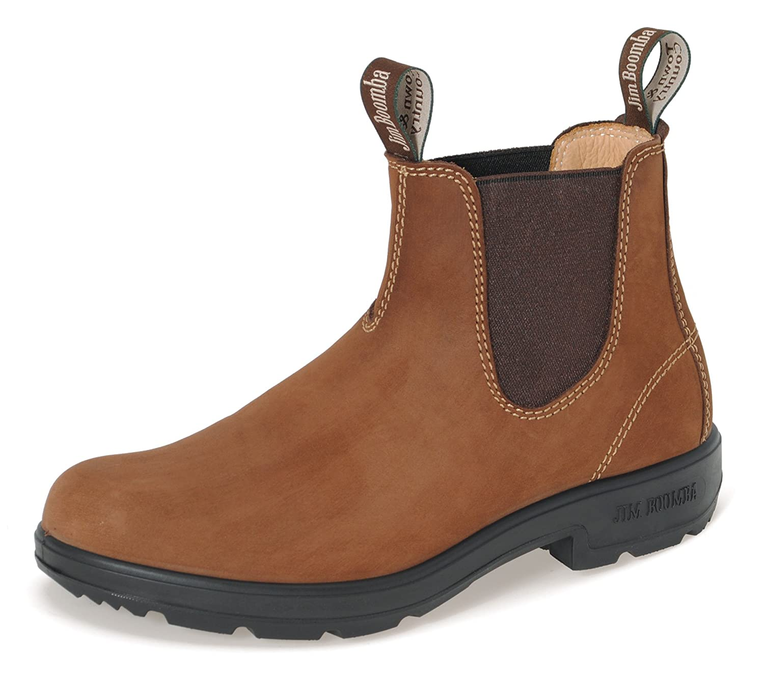 JIM BOOMBA Town & Country Offroad Chelsea Stiefel JBCL Unisex Stiefelette   Clay   UK 4.0   EU 37.0