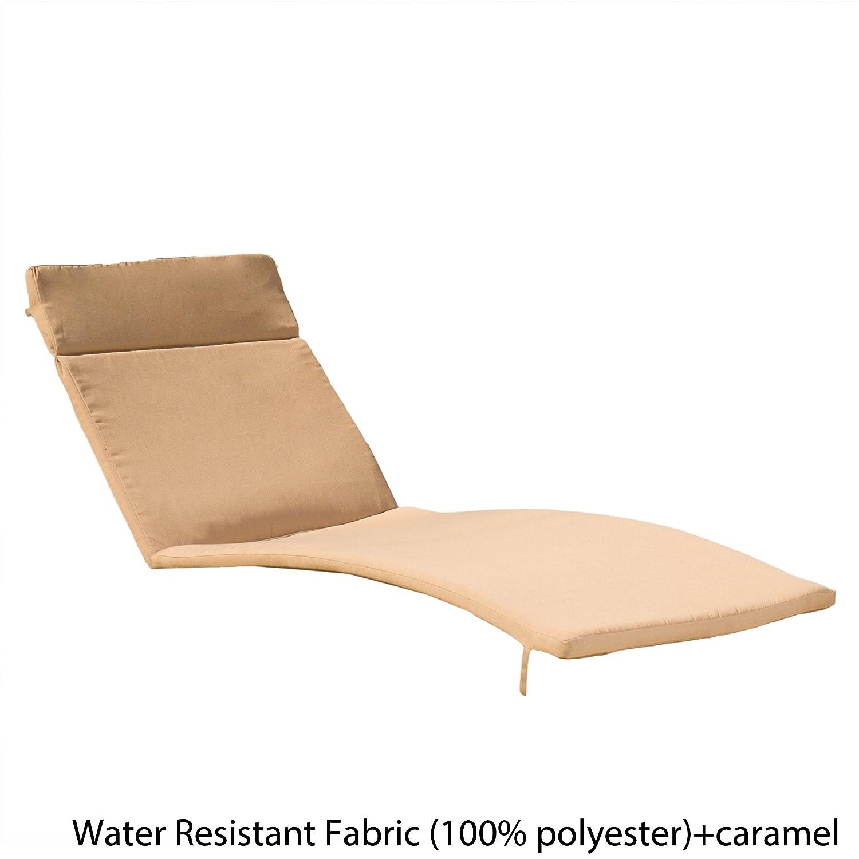 Caramel Christopher Knight Home 602 Salem Chaise Lounge Cushion