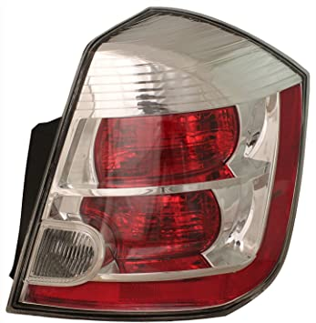 ACANII For 2007 2008 2009 Nissan Sentra Taill Lights Brake Lamps Replacement 07-09 Left+Right
