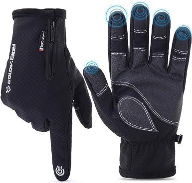 New Winter Gloves Warm Windproof Waterproof Finger Touch Screen Gloves Unisex