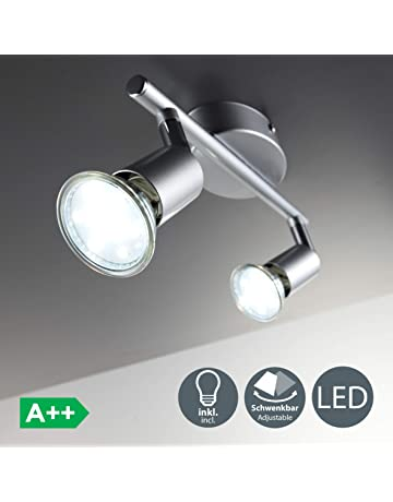 Design LED Decken Wand Lampe Spots drehbar Leuchte Strahler Hausflur Zimmer WOFI