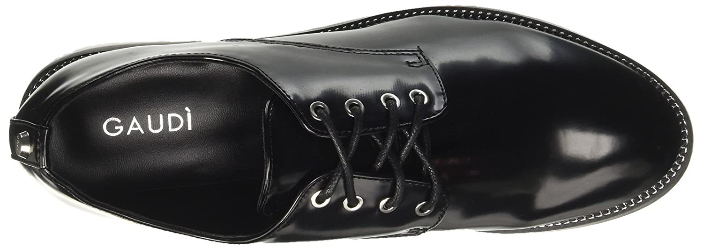 Gaudì Damen Derby-Bridget-Abri Derby-Bridget-Abri Derby-Bridget-Abri Niedrige Sneaker Nero (schwarz) a9b63d