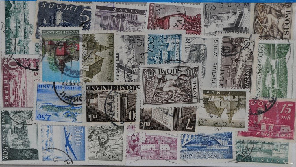 50 Finland large format L129 Stamps