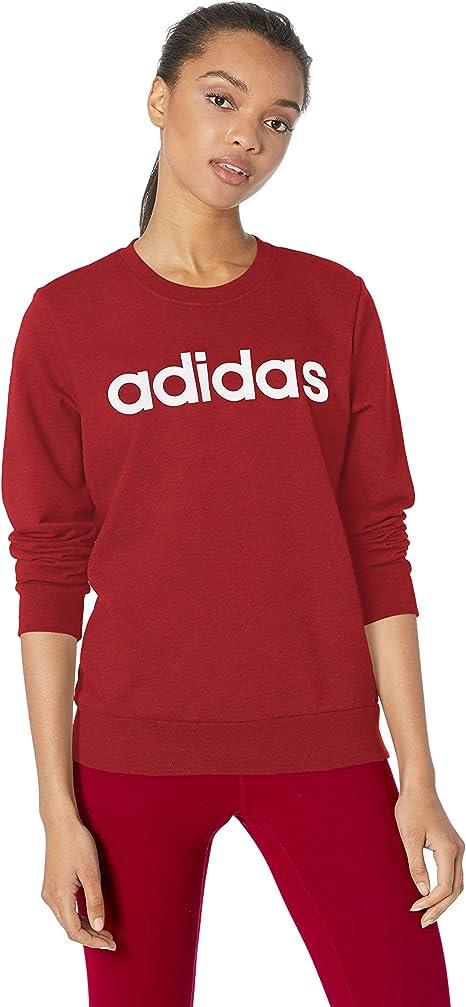 adidas | Haze Coral White | Essentials Linear Pullover