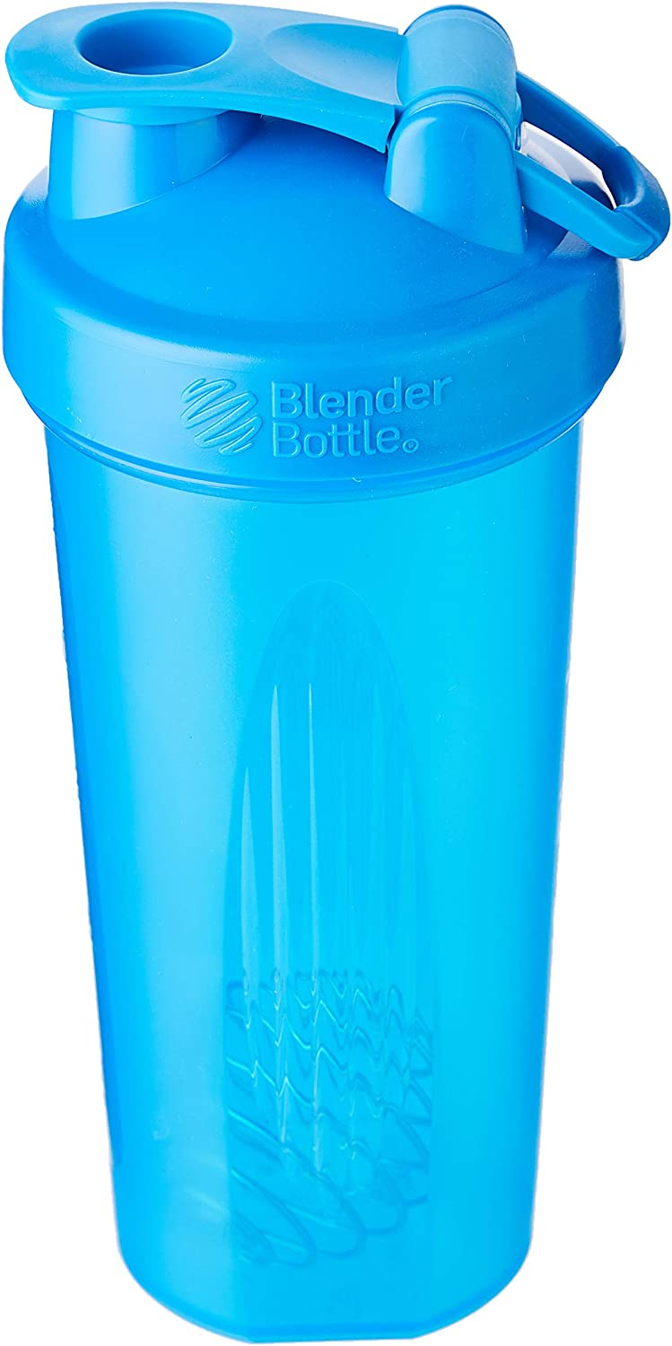 BlenderBottle C01639 Classic Loop Top Shaker Bottle, 32-Ounce, Cyan/Cyan